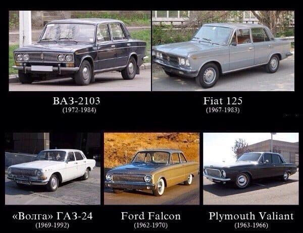 Иностранные прототипы самых популярных советских автомобилей---%d1%81%d0%b0%d0%bc%d1%8b%d0%b9-%d1%81%d0%b0%d0%bc%d1%8b%d0%b9-фото-2017